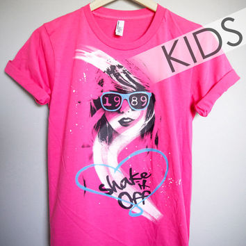 Shake It Off / Taylor Swift 1989 Kids T-Shirt