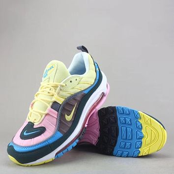 Trendsetter Nike Air Max 98 Women Men Fashion Casual Sneakers S 87330c5238