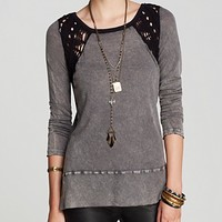 Free People Tee - Lace Up Swit