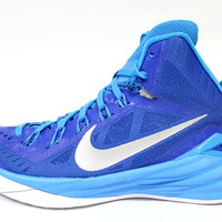 Nike Women's Hyperdunk 2014 Blue/White Basketball Shoes 653484 404