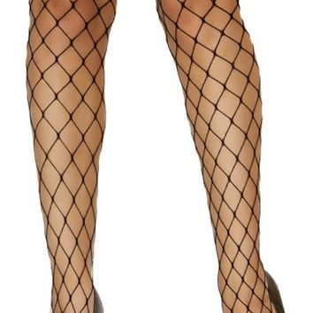 Sexy Fence Net Thigh High Stockings Halloween Accessory