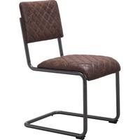 Father Dining Chair, Vintage Brown (Set of 2)
