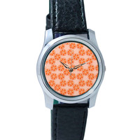 Peeled Oranges Quirky Pattern Wrist Watch