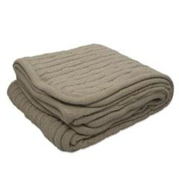 Pro Towels - Cable Knit Lambswool Blanket
