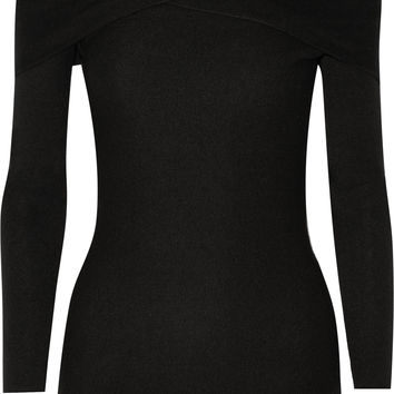 Maiyet - Off-the-shoulder cashmere sweater