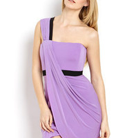ideeli | BCBGMAXAZRIA One-Shoulder Grecian Tulip Dress