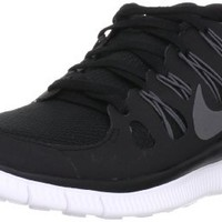 Nike Men's Free 5.0+ Black/Mtlc Drk Gry/Drk Gry/Wht Running Shoe 10 Men US