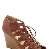 ModCloth Iced Coffee Date Wedge