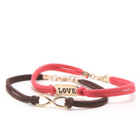 With Love From CA Love Infinity Suede Bracelet at PacSun.com