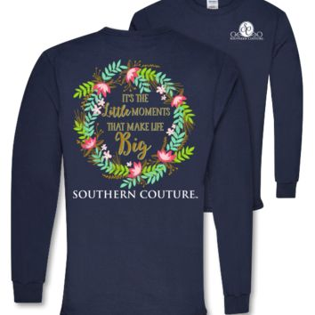 Southern Couture Preppy Little Moments Long Sleeve T-Shirt