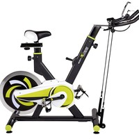 Body Xtreme Fitness Exercise Bike, 40lb Flywheel, Resistance Bands