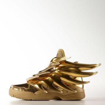 ADIDAS JEREMY SCOTT Wings 3 Gold Shoes SIZES 7 to 13 us B35651