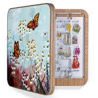 Ginette Fine Art Butterflies In Chamomile 1 BlingBox