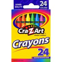 Cra-Z-Art 24 Count Smoother Brighter Colors Crayons