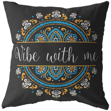 Yoga Zen Meditation Pillows Vibe With Me