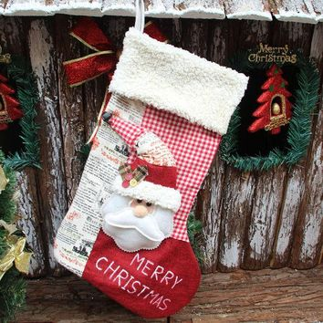 ONETOW Christmas Decoration Luxury Gift Socks [9199618756]