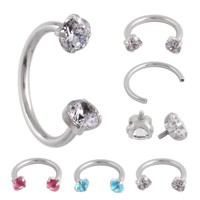 Septum Cartilage Helix Captive Hoop Nose Ring for Women