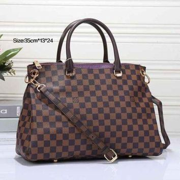 LMOFN1 Perfect LV Women Shopping Leather Tote Crossbody Satchel Shoulder Bag