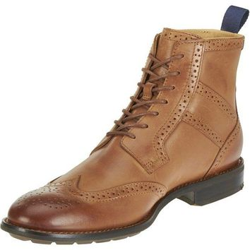 Sebago Dresden WingTip Tan leather Men's Boot