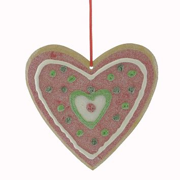 Personalized Ornaments ICED COOKIE Decorated Gingerbread Sugar 1725660 HEART