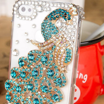 rhinestone inlaid van de pauw iPhone case for iphone 4/4s/5 friendship graduation gifts summer trending
