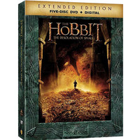 Walmart: The Hobbit: The Desolation Of Smaug (Extended Edition) (Five Disc DVD + Digital With Ultraviolet) (Widescreen)