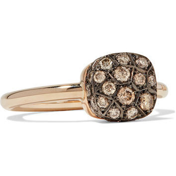 Pomellato - Nudo 18-karat rose gold diamond ring