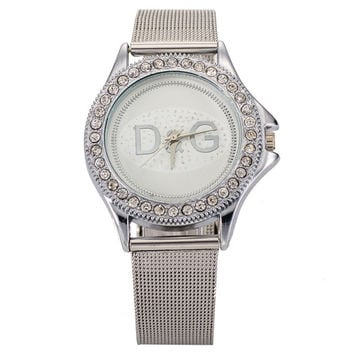 Hot Sale Stylish Gold Watch Ladies Bracelet Watch [6542334659]