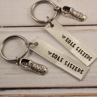 Sole Sisters - Running Buddy Keychain Set - #FF