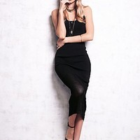 Free People Womens Halter Knit Bodycon