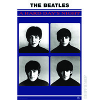 The Beatles - Hard Day's Night Poster on Sale for $7.99 at HippieShop.com