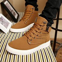 Microfiber Ankle Boot/Sneakers