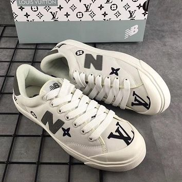 NB New Balance x LV Fashion Running Sport Shoes Sneakers