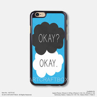 The Fault in Our Stars Okay Okay iPhone 6 6Plus case iPhone 5s case iPhone 5C case iPhone 4 4S case Samsung galaxy Note 2 Note 3 Note 4 S3 S4 S5 case 775-02