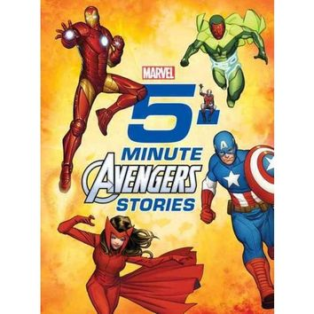 Marvel 5-Minute Avengers Stories (Hardcover)