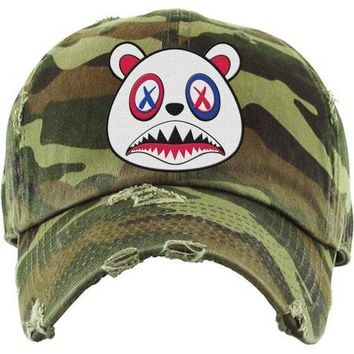 USA Baws Army Camo Dad Hat