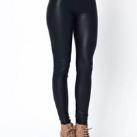 faux-leather-leggings BLACK - GoJane.com