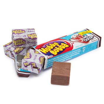 Hubba Bubba Bubble Gum Packs - Hot Cocoa: 18-Piece Box