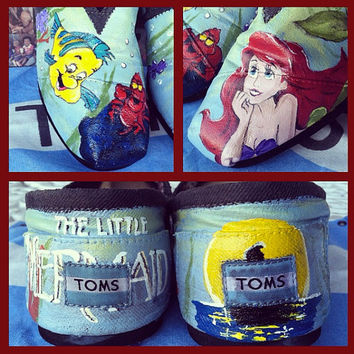 The Little Mermaid Toms