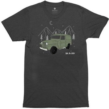 Into The Wild Truck - Heather Black