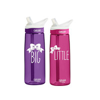 Pack of 2 Sorority CamelBak 0.75 Eddy or 20 ounce insulated Personalized Gift Water Bottle Sports bottles water bottle Gift