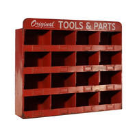 Machinist Red Cubbies