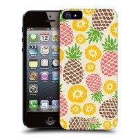 Head Case Designs Pineapple Medley Pineapple Patterns Protective Snap-on Hard Back Case Cover for Apple iPhone 5 5s