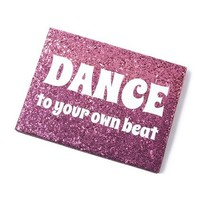 Dance to Your Own Beat Wall Canvas  | Claire's