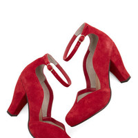 Seychelles Luxe Electrify Heel in Red
