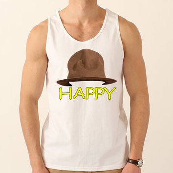 Happy Tank Top Inspired by Pharrel Williams 002