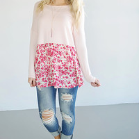 Pick Me Up Floral Top