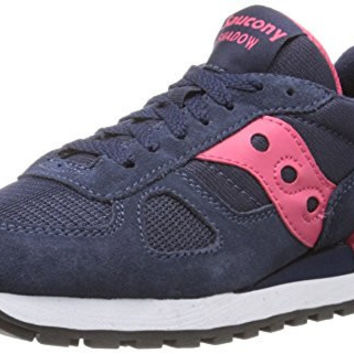 Saucony Originals Women's Shadow Original Sneaker,Navy/Pink,12 M US