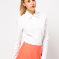 ASOS Shirt with Scallop Collar