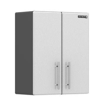Ulti-MATE Storage 2-Door Wall Cabinet in Starfire Pearl